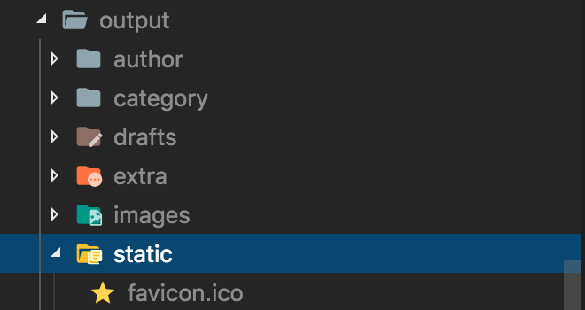 favicon-in-the-output